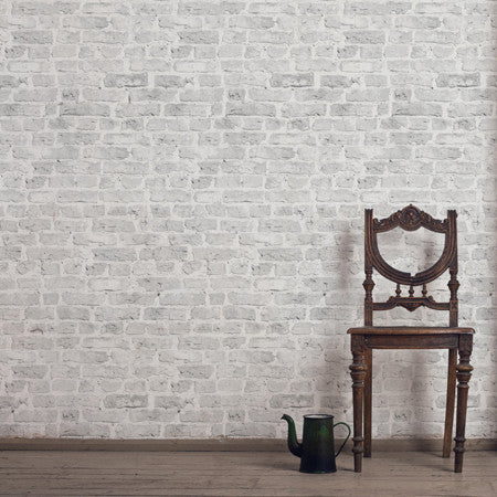 Debbie McKeegan White Brick Wallpaper