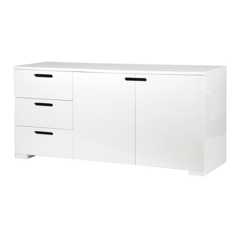 Brunel White Gloss Sideboard