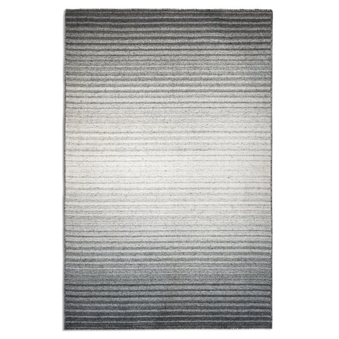 Plantation Rug Co. Greyscale Black/White Fade