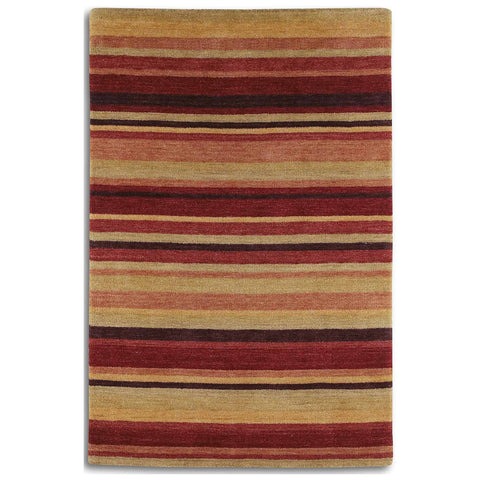 Plantation Rug Co. Regatta Red/Sand