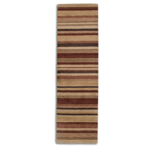 Plantation Rug Co. Regatta Maroon/Sand