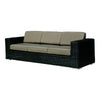 Cuba 3 Seater Sofa -Ebony - Garden & Conservatory by Westminster available from Harley & Lola - 2