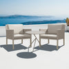 Verona Aluminium & Fabric 2 Seater Casual Set - - Garden and Conservatory by Cozy Bay available from Harley & Lola - 4