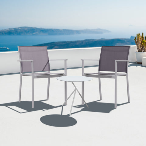 Verona Aluminium & texteline 2 Seater Set - - Garden and Conservatory by Cozy Bay available from Harley & Lola - 1