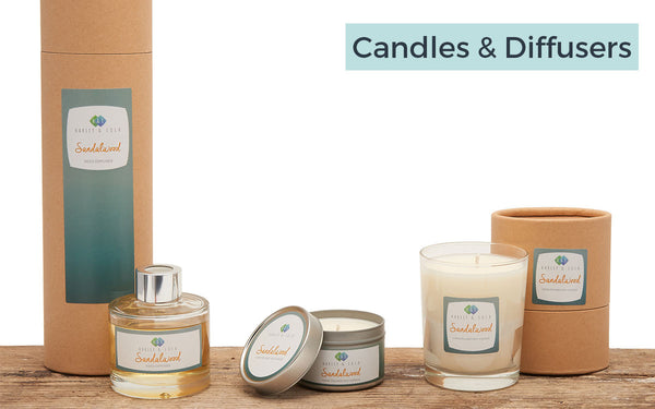 Harley & Lola Candles and Diffusers
