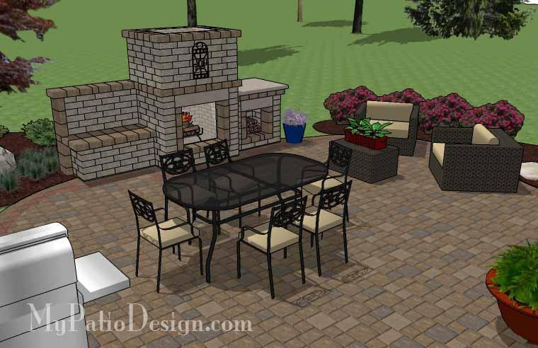 Concrete Patio #06-055001-01