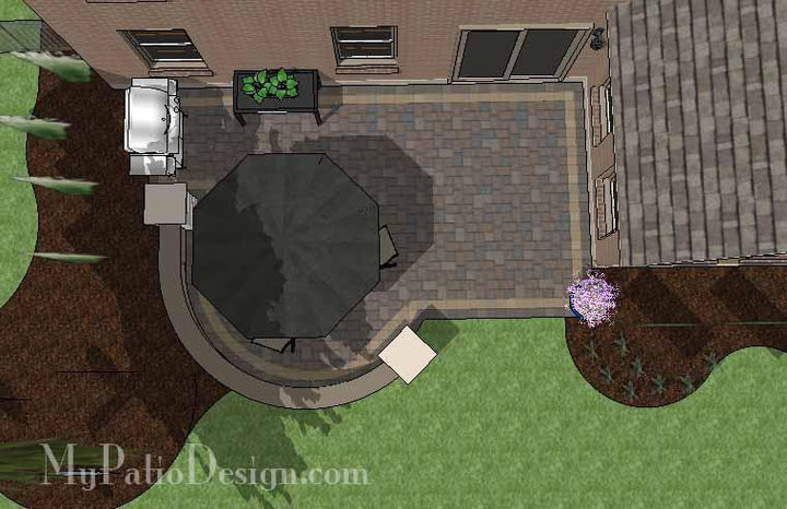 Concrete Patio #10-031001-01