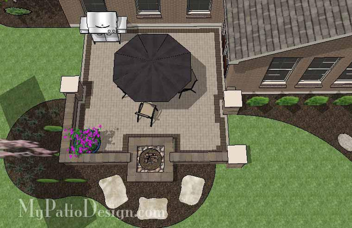 Concrete Patio #10-032001-01