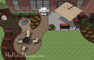 Concrete Patio #A-018501-01