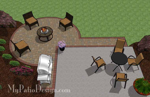 Concrete Patio #A-024001-01