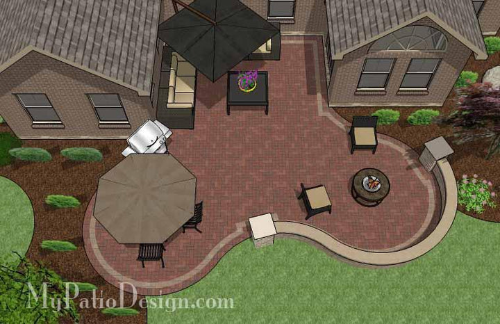 Concrete Patio #C-066501-01