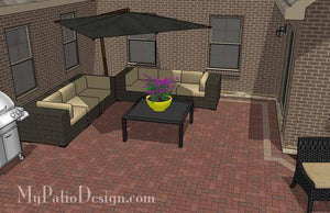 Concrete Patio #C-066501-02