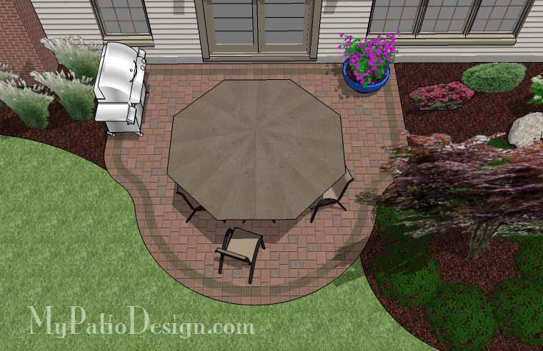 Concrete Patio #S-027001-01