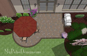 Concrete Patio #S-029001-01