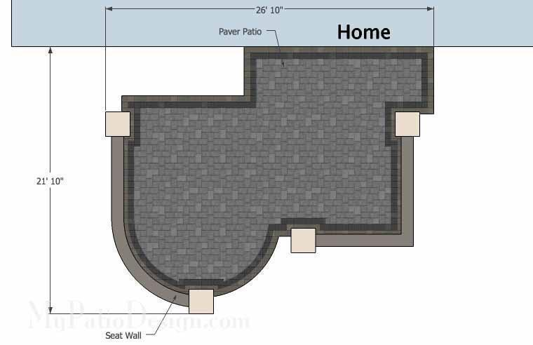 Concrete Patio #S-038001-02