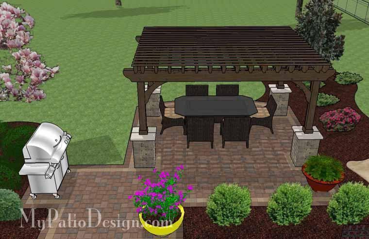 Concrete Patio #S-038501-01