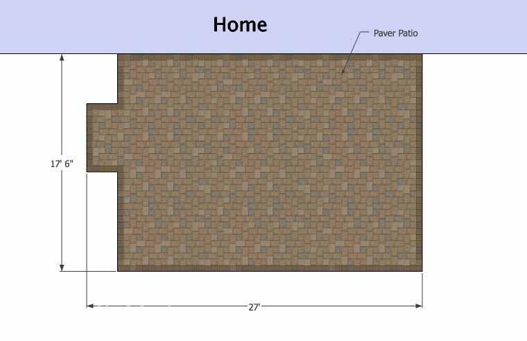 Concrete Patio #S-044001-01