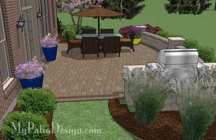 Concrete Patio #S-048001-01