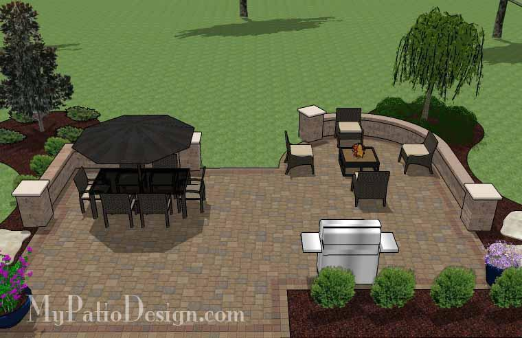Concrete Patio #S-066001-01