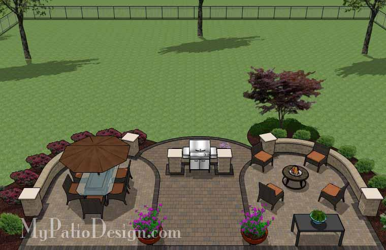 Concrete Patio #S-084501-02