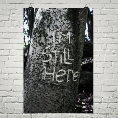 'I'm Still Here' Poster (The Two Lost Boys)