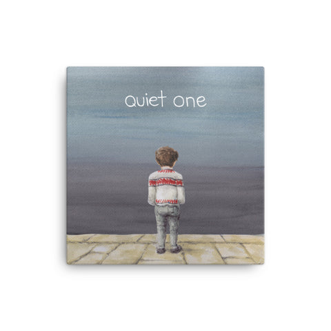 Quiet One - 'Quiet One' Canvas