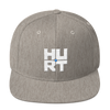 Hurt Records Embroidered Hat (Snapback)