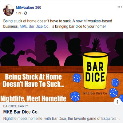 Facebook Shout Out From Milwaukee 360