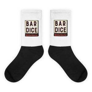 Bar Dice Socks