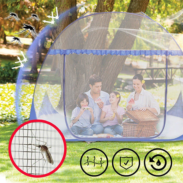 50% OFF-PERRI ANGEL™-Anti-Mosquito Pop-Up Mesh Tent
