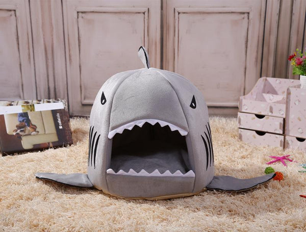 Cozy Shark Pets Bed (Free shipping)