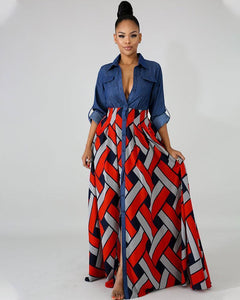 Be the Queen Plus Size Maxi Dress - Girlsintrendy, Girls In Trendy