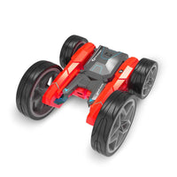 (Free Shipping)New 2.4G remote control double-sided stunt car