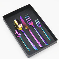 5pcs Stainless Steel Tableware Set