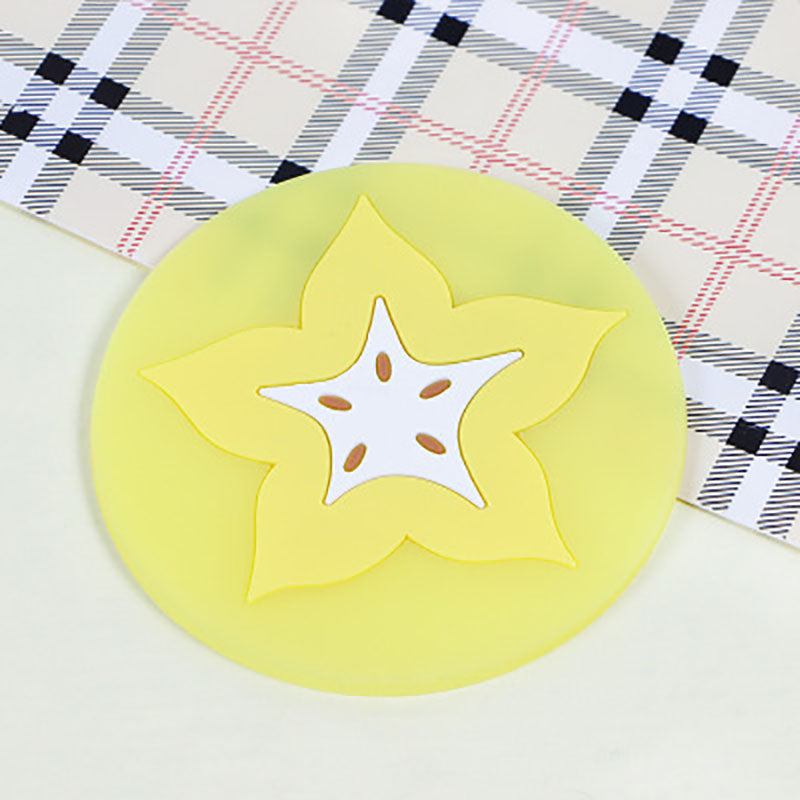 Silicone insulated coaster