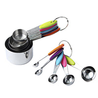 Stainless Steel Kitchen Measuring Spoon 10Pcs/Set