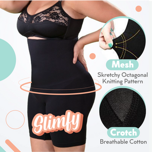 Slimfy High-Waisted Shorts Shaper