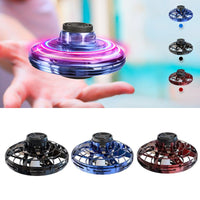 Flynova Most Tricked-Out spinner hand For Flying Spiner finger game Toys Mini UFO LED drone flying saucer disc