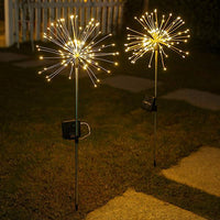 Solar-Powered LED Firework Garden Stake($ 100 or more(>6pcs)get more 20% off, Promo Code: 20off)
