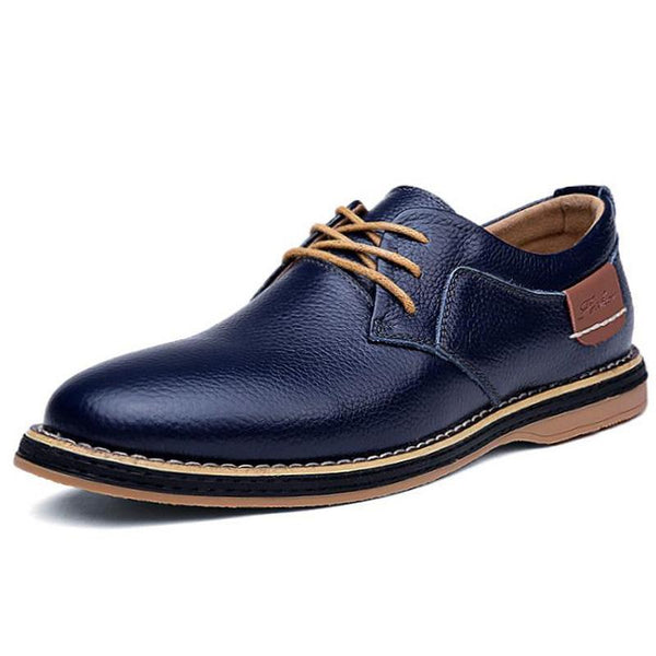 Mens Bronson Leather Loafers
