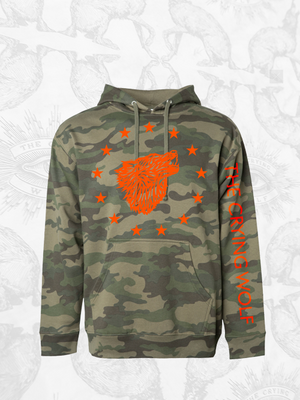 Camo-Wolf Hoodie (Limited Edition)