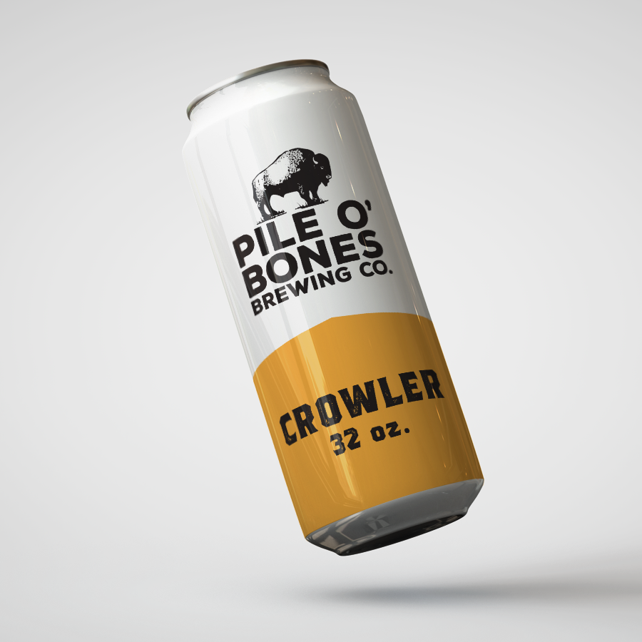 Pile O Bones Red Ale – 32oz. Crowler