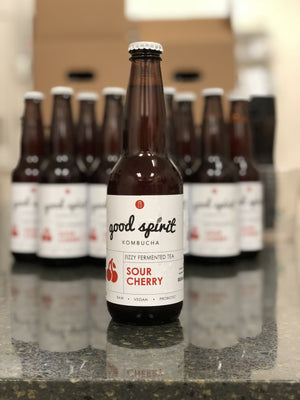 Sour Cherry Kombucha