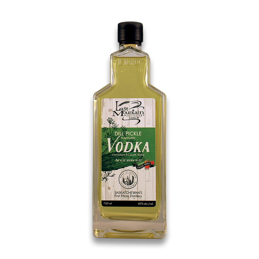 Dill Pickle Vodka – Bottle