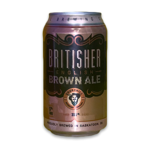 Britisher English Brown Ale – 355ml 6 Pack