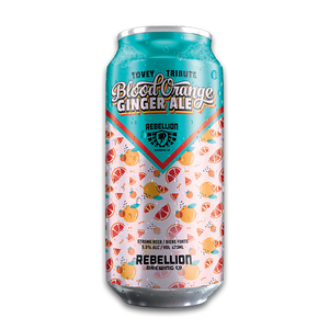 Blood Orange Ginger Ale – 473ml 4 Pack