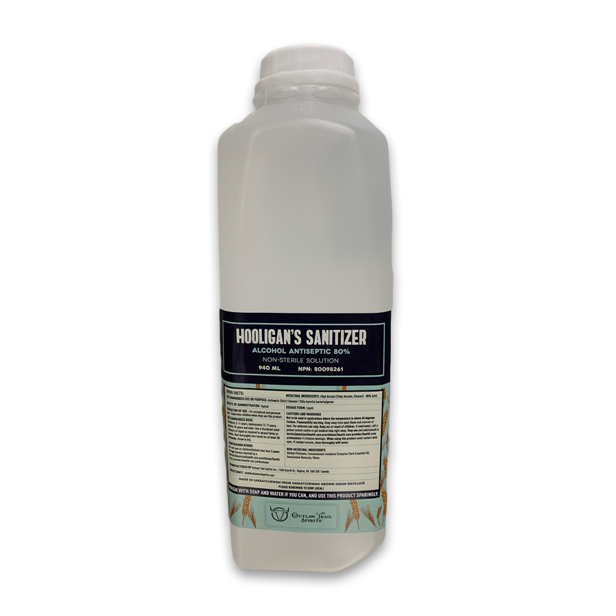 Hooligan's Sanitizer – 940ml
