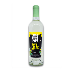 Wolf Willow Winery Sweet Mead – 750ml Bottle