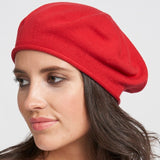 Lightweight cotton beret