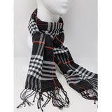 Checkered scarf scarf